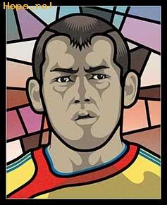 Caricaturi fotbalisti Euro 2008 - Paul Codrea - Euro 2008